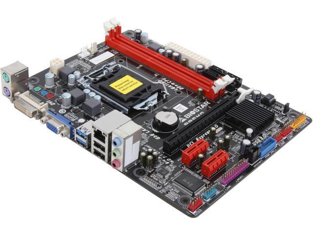 BIOSTAR B85MG Ver. 6.x LGA 1150 Intel B85 SATA 6Gb/s USB 3.0 Micro ATX Intel Motherboard