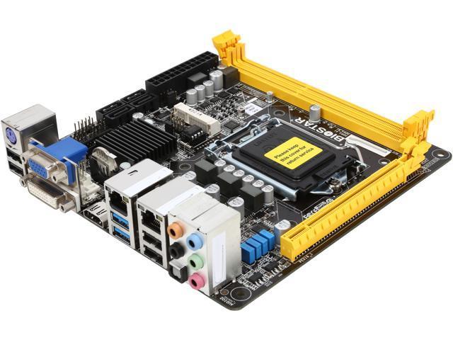 BIOSTAR Hi-Fi B85N 3D LGA 1150 Intel B85 HDMI SATA 6Gb/s USB 3.0 Mini ITX Intel Motherboard