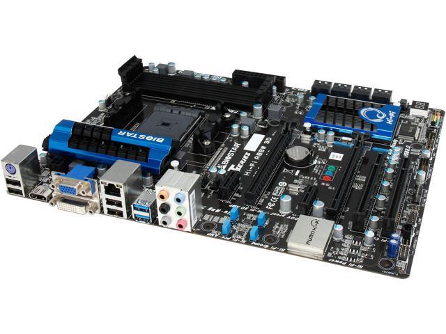 BIOSTAR Hi-Fi A88W 3D FM2+ / FM2 AMD A88X (Bolton D4) HDMI SATA 6Gb/s USB 3.0 ATX AMD Motherboard
