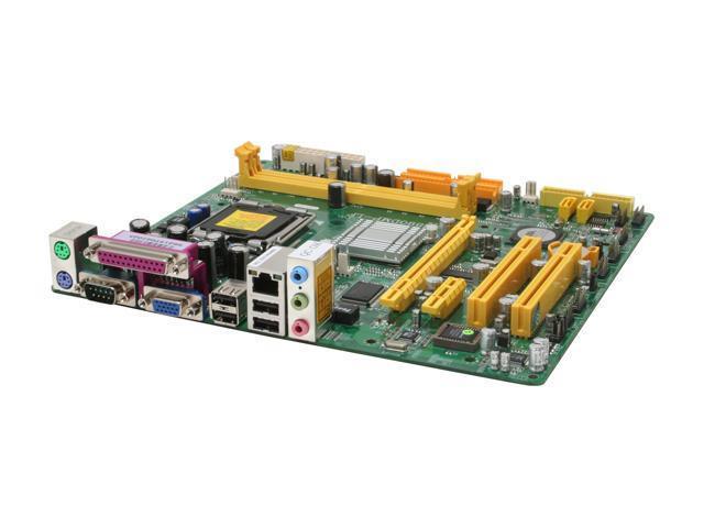 JetWay P4M890DMP LGA 775 VIA P4M890 Micro ATX Intel Motherboard