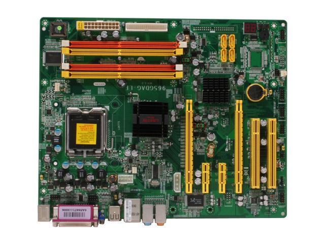 JetWay J965GDAG-LF LGA 775 Intel G965 Express ATX Intel Motherboard