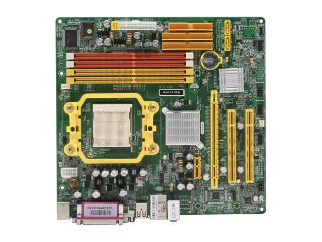 JetWay JM2GT3-PTD AM2 NVIDIA GeForce 6100 Micro ATX AMD Motherboard