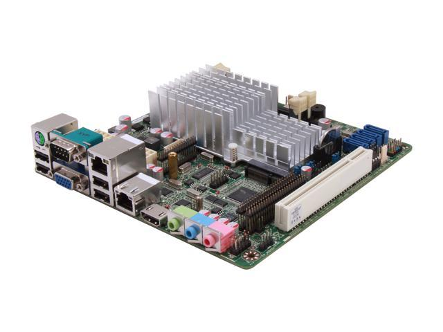 JetWay JNF9D-2550 Intel Atom D2550 (1.86GHz, Dual-Core) Intel NM10 Mini ITX Motherboard/CPU Combo