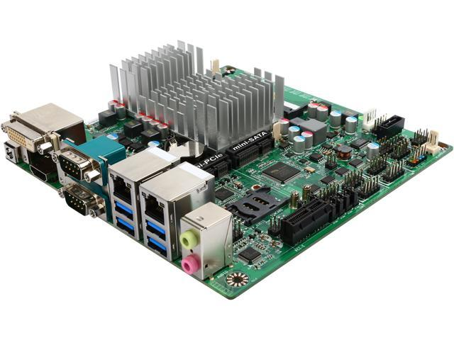 JetWay JNF596-3150 Intel Celeron N3150 SoC, 1.60GHz - 2.08GHz Burst, Quad-Core, 6W TDP/4W SDP, with AES-NI support Mini ITX Motherboard/CPU Combo