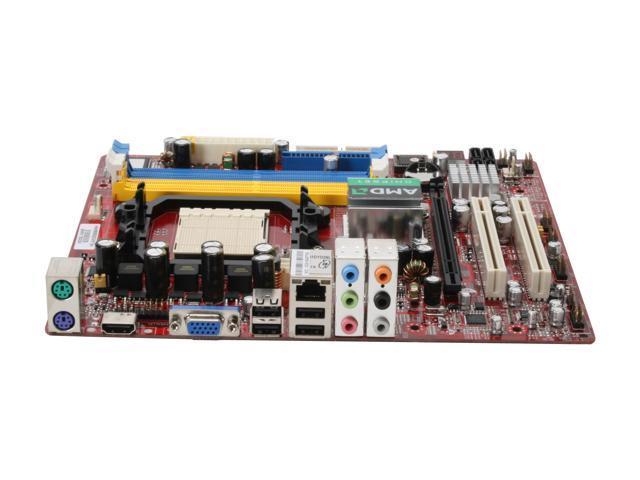 SAPPHIRE PE-AM2RS690MH AM2 AMD 690G HDMI Micro ATX AMD Motherboard