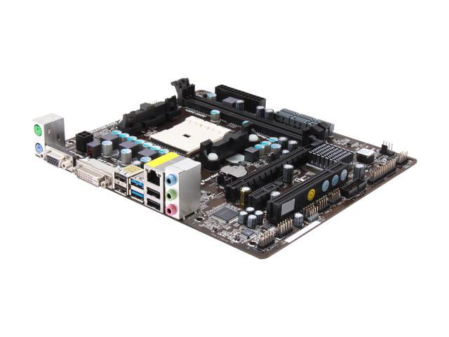 ASRock FM2A75M-DGS Micro ATX AMD Motherboard