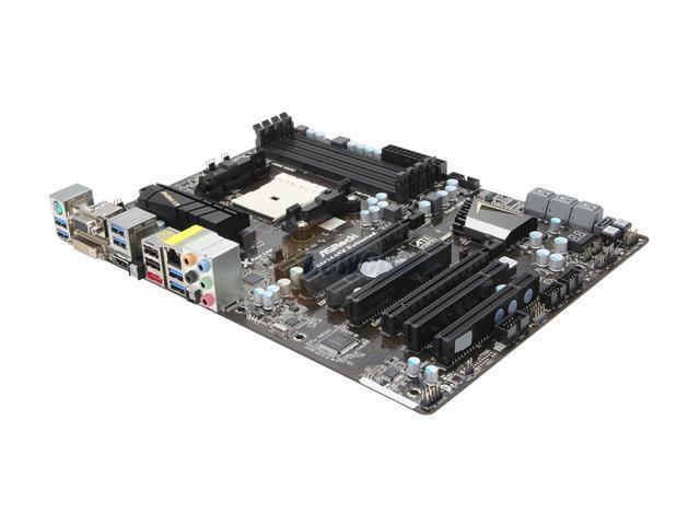 ASRock FM2A85X Extreme4 FM2 AMD A85X (Hudson D4) SATA 6Gb/s USB 3.0 HDMI ATX AMD Motherboard