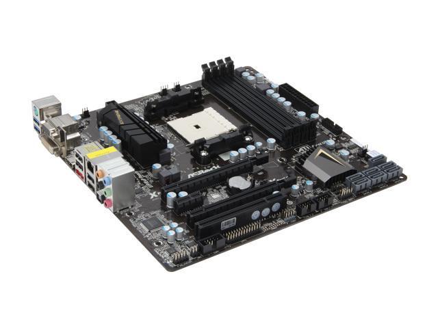 ASRock FM2A85X Extreme4-M Micro ATX AMD Motherboard