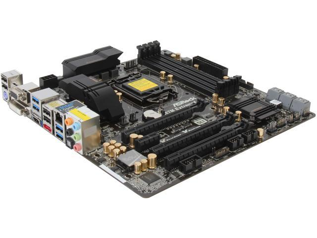 ASRock Z87M Extreme4 LGA 1150 Intel Z87 HDMI SATA 6Gb/s USB 3.0 Micro ATX Intel Motherboard