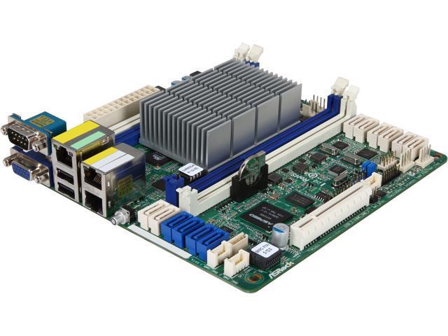 ASRock C2550D4I Mini ITX Server Motherboard FCBGA1283 DDR3 1600 / 1333