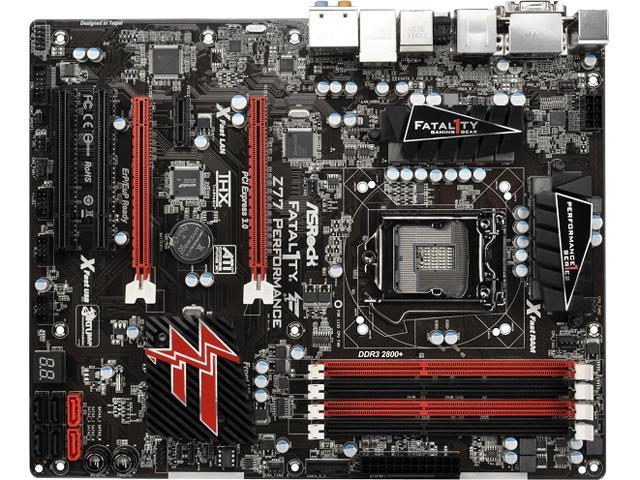 ASRock Z77 Performance ATX Intel Motherboard