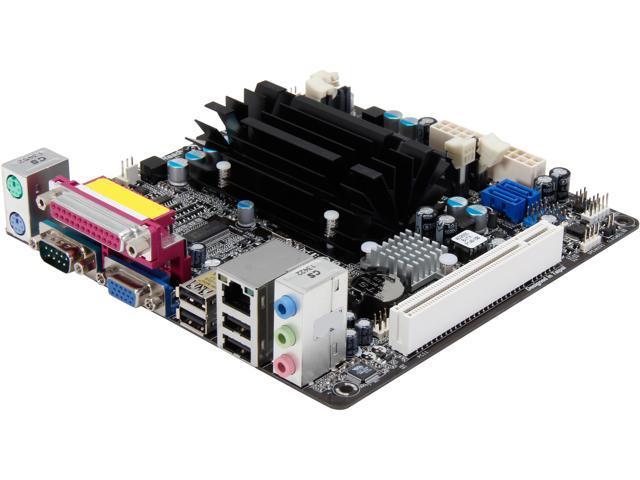 ASRock AD2550B-ITX Intel Dual-Core Atom D2550 1.86 GHz Intel NM10 Mini ITX Motherboard/CPU/VGA Combo