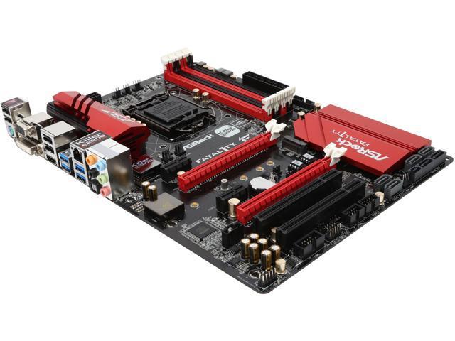 ASRock Fatal1ty Z97 Killer LGA 1150 Intel Z97 HDMI SATA 6Gb/s USB 3.0 ATX Intel Motherboard