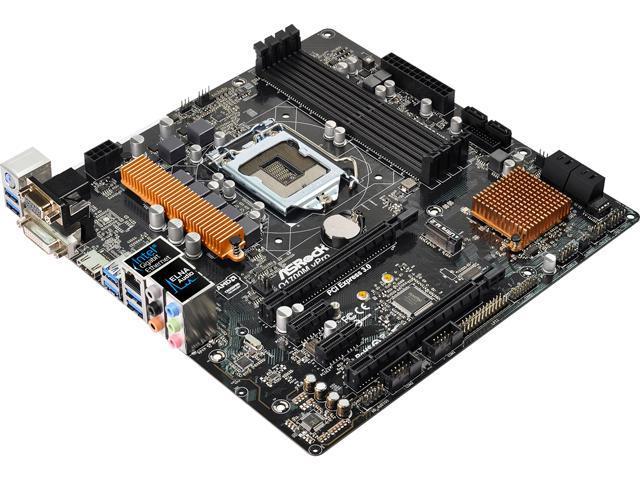 ASRock Q170M vPro LGA 1151 Intel Q170 HDMI SATA 6Gb/s USB 3.0 ATX Intel Motherboard