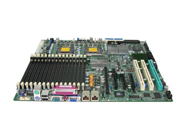 SUPERMICRO X7DB8+-O Enhanced Extended ATX Server Motherboard Dual LGA 771 Intel 5000P DDR2 667