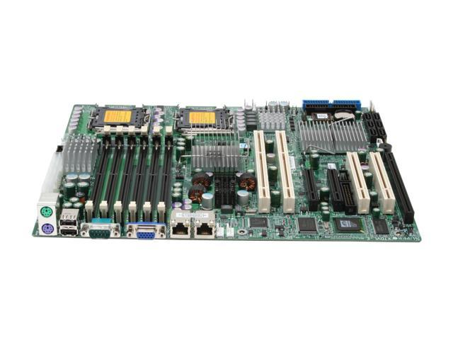 SUPERMICRO X7DVL-E-O ATX Server Motherboard Dual LGA 771 Intel 5000V DDR2 667