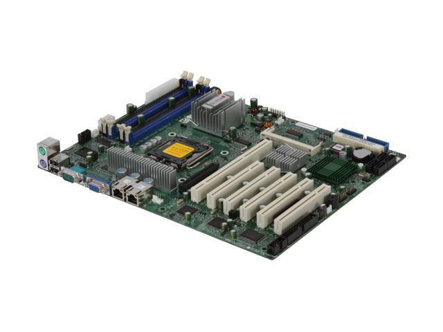 SUPERMICRO MBD-PDSMA+-O LGA 775 Intel 3000 ATX Intel Xeon/Core 2/Pentinm D/PPentinm 4 EE/CeleronD Server Motherboard