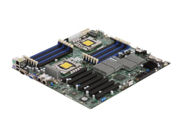 SUPERMICRO MBD-X8DTH-6F-O Dual LGA 1366 Intel 5520 Extended ATX Dual Intel Xeon Server Motherboard