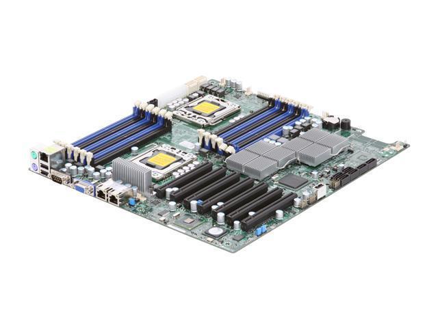 SUPERMICRO MBD-X8DTH-iF-O Dual LGA 1366 Intel 5520 Extended ATX Dual Intel Xeon Server Motherboard