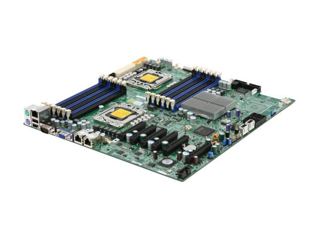 SUPERMICRO MBD-X8DTE-F-O Dual LGA 1366 Intel 5520 Extended ATX Dual Intel Xeon 5500/5600 Series Server Motherboard