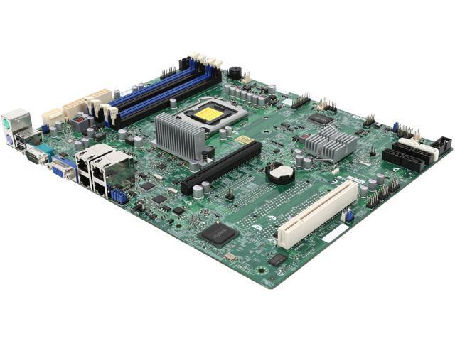 SUPERMICRO MBD-X9SCI-LN4-O LGA 1155 Intel C204 ATX Intel Xeon E3 Server Motherboard