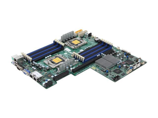 SUPERMICRO MBD-X8DTU-F-O Proprietary Server Motherboard Dual LGA 1366 Intel 5520 DDR3 1333/1066/800