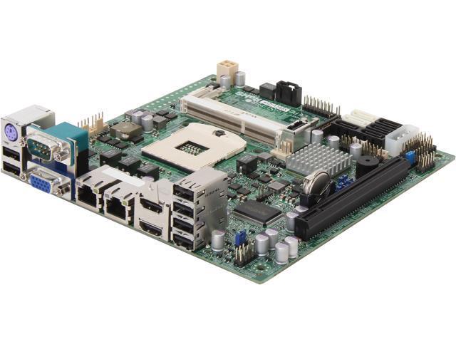 SUPERMICRO X9SCV-QV4 Mini ITX Server Motherboard Socket G2 Intel QM67 DDR3 1066/1333