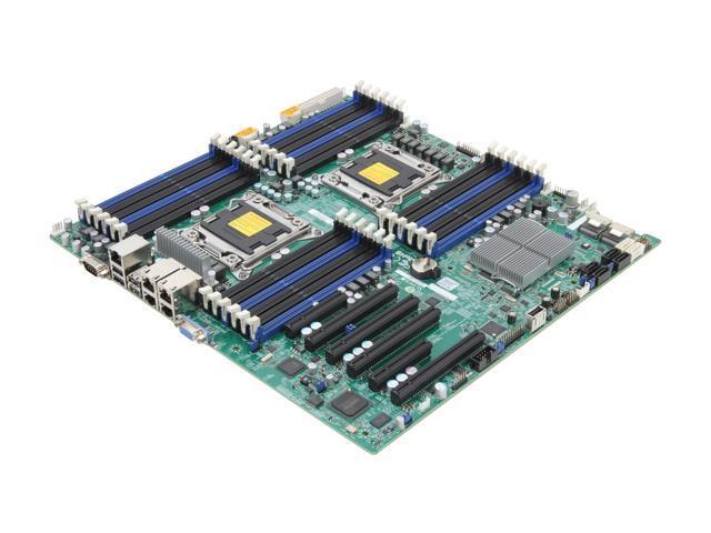 SUPERMICRO MBD-X9DR3-LN4F+-O Enhanced Extended ATX Server Motherboard Dual LGA 2011 DDR3 1600/1333/1066/800