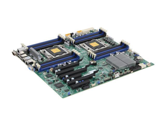 SUPERMICRO MBD-X9DRI-F-O Extended ATX Server Motherboard Dual LGA 2011 DDR3 1600