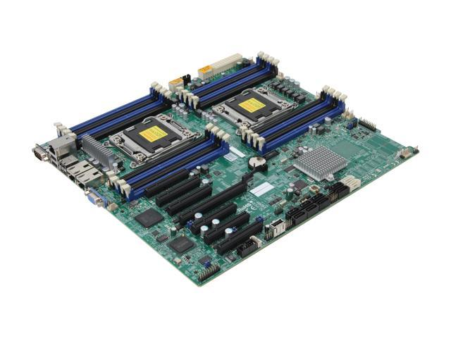 SUPERMICRO MBD-X9DRH-IF-O Extended ATX Server Motherboard Dual LGA 2011 DDR3 1600