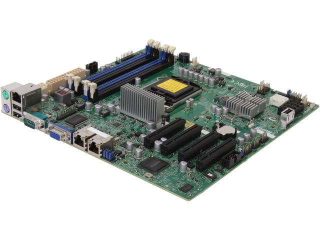 SUPERMICRO MBD-X9SCM-IIF Micro ATX Server Motherboard LGA 1155 Intel C204 PCH chipset DDR3 1600/1333