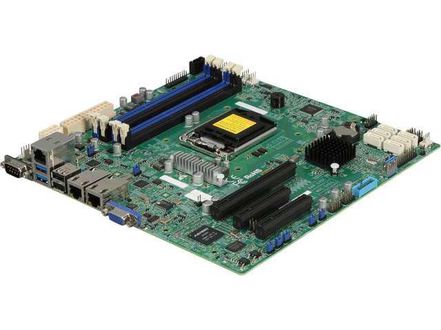 SUPERMICRO MBD-X10SLH-F-O uATX Server Motherboard LGA 1150 Intel C226 DDR3 1600