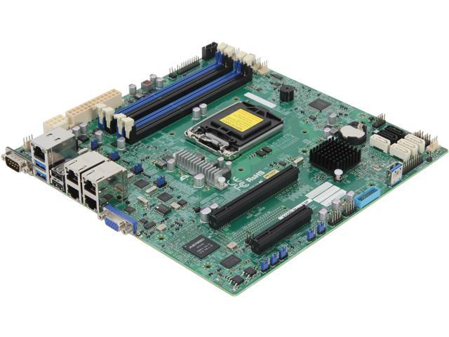 SUPERMICRO MBD-X10SLM+LN4F-O Micro ATX Server Motherboard LGA 1150 DDR3 1600