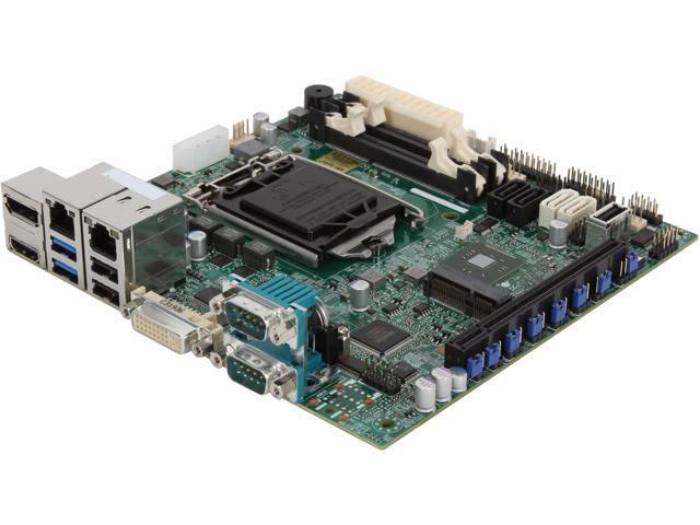 SUPERMICRO MBD-X10SLV-Q-O Mini ITX Server Motherboard LGA 1150 Intel Q87 DDR3 1600