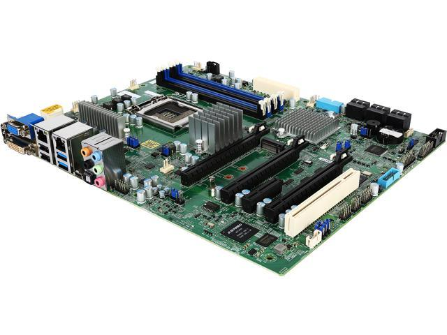 Supermicro X11SAT-F Workstation Motherboard - Intel C236 Chipset - Socket H4 LGA-1151 - Retail Pack
