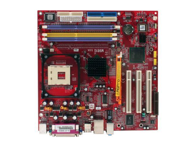 PC CHIPS M981G V5.0 478 Intel 865GV Micro ATX Intel Motherboard