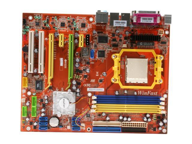 Foxconn N570SM2AA-8EKRS2H AM2 NVIDIA nForce 570 SLI MCP ATX AMD Motherboard