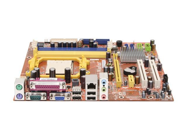 Foxconn MCP61VM2MA-RS2H AM2 NVIDIA GeForce 6100 Micro ATX AMD Motherboard