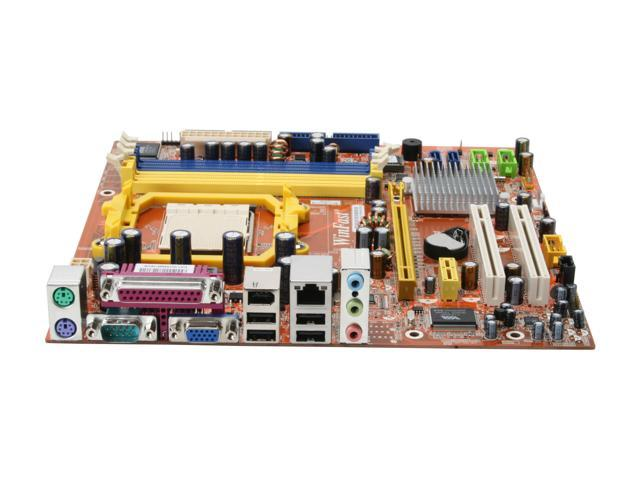 Foxconn MCP61SM2MA-ERS2H AM2 NVIDIA GeForce 6100 + nForce 405 Micro ATX AMD Motherboard