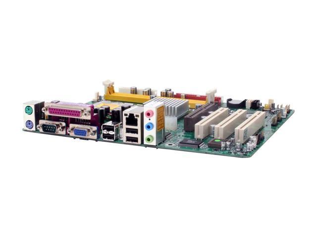 MACH SPEED P4M2MPRO LGA 775 VIA P4M800 PRO Micro ATX Intel Motherboard