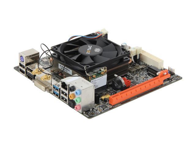 ZOTAC D2550ITXS-A-E(D2550-ITX WiFi Supreme) Intel Atom D2550 BGA559 Intel NM10 Mini ITX Motherboard/CPU Combo