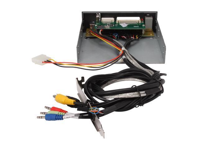 """BYTECC BT-818 42-in-1 USB 2.0 5.25"""" internal Multi I/O card reader"""