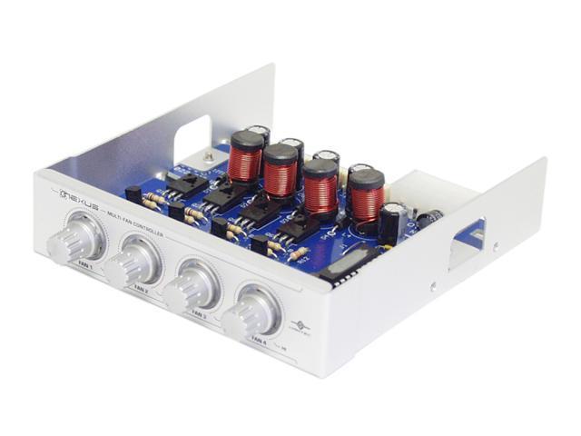 VANTEC NXP-205-SL Silver Fan Controller Panel