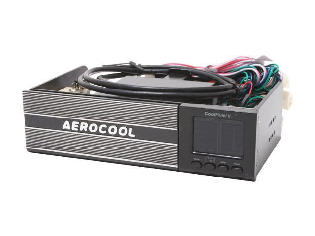 AeroCool CoolPanel2-Black Multi-Funtion Cool Panel with 20 in 1 Card Reader