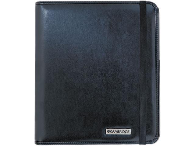 Mead Cambridge Basic iPad Case, Simulated Leather, 9-1/8 x 1-1/8 x 10-1/2, Black