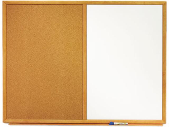 Quartet Combination Cork and Melamine Board 1 EA