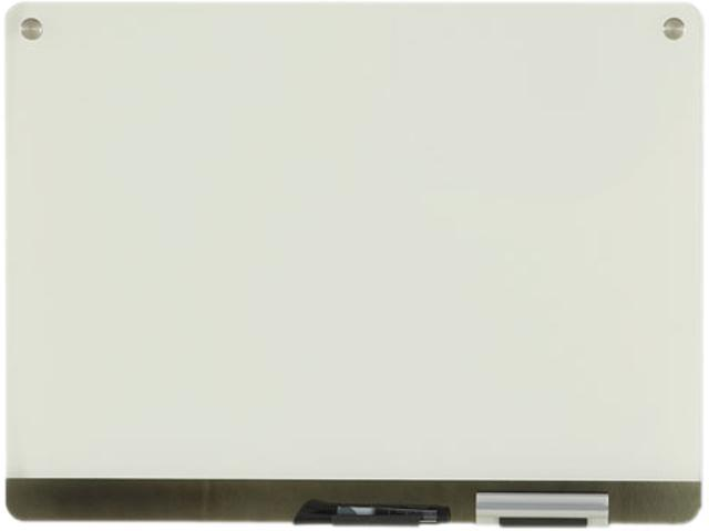 Clarity Glass Personal Dry Erase Boards Ultra-White Backing 24 x 18