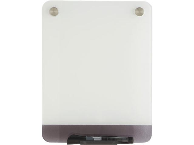 Clarity Glass Personal Dry Erase Boards Ultra-White Backing 9 x 12