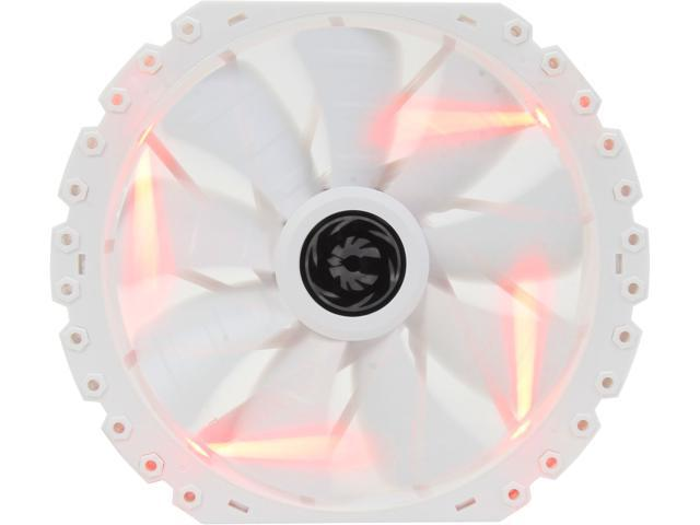 BitFenix Spectre PRO ALL WHITE Red LED 230mm Case Fan