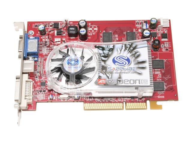 SAPPHIRE 100175L Radeon X1650PRO 512MB 128-bit GDDR2 AGP 4X/8X Video Card
